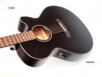 Guitarra Cort Cuerdas Metalicas  SFXE BK5 Electroácustica