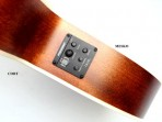 Guitarra Cort Cuerdas Metalicas  SFX1F - NS  Electroacústica con Equalizador  Fishman y Afinador