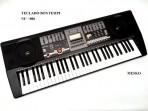 Teclado Bontempi  NU - 006 - 5 Octavas 61 Teclas - 128 Timbres  -  128  Ritmos Conexción MIDI - USB