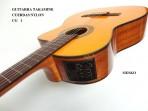 Guitarra Takamine Clasica Cuerdas Nylon CG-1 Natural Electroácustica Equalizador Takamine Con Afinador
