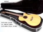 Estuche  Gator Para Guitarra Folk - Jumbo De Fibra GC - DREAD
