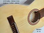 Guitarra Mesko  M - 01 Estudio Cuerdas  Nylon  6 -7 Años Aprox. Largo 088 centimetros