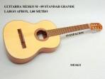 Guitarra Mesko M-09 Concierto  Cuerdas  Nylon, Construida con Maderas Laminadas,Tapa Pino Abeto o Sapelly, Caja de Sapelly, Puente y Diapasón de Nogal