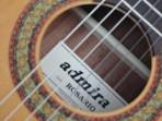 Guitarra  Admira  Rosario  Española  Cuerdas  Nylon