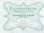 Juego Cuerdas  Violin 4/4 Lenzner  Goldbrokat