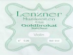 Juego Cuerdas  Violín 4/4 Lenzner  G 1000 Goldbrokat