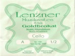 Juego Cuerdas Para Cello  1/2 Lenzner  GOLDBROKAT