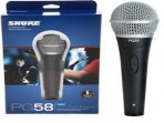 Micrófono Shure  Vocal   PGA  58 - XLR