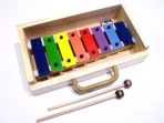 Metalofono 8 Notas Colores Diatonico