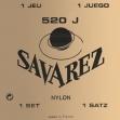 Juego De Cuerdas Nylon  Savarez 520 J Para Guitarra Clásica