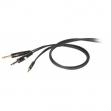 Cable Proe DH 545  Plug Plug 6.3  Mono - Mini Plug 3.5 Stereo  1.8 Metros