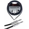 Cable Joyo  Plug - Plug  6.3 Stereo  Para  Audio - Instrumentos  6 Metros