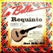 Juego Cuerdas La Bella  RQ - 80  Para Requinto