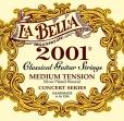 Juego Cuerdas Nylon La Bella 2001 Media Tensión Para Guitarra