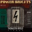 Juego Cuerdas Thomastik Power - Brights PB 110 = 010 - 013 - 017 - 026 - 035 - 045