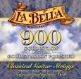 Juego Cuerdas Nylon  La Bella  900 Alta Tensión Para Guitarra