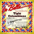 Juego Cuerdas La Bella  TPC Para Tiple