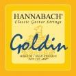 Juego Cuerdas Nylon Hannabach 725  MHT Alta Tensión Para Guitarra