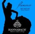 Juego Cuerdas Nylon Hannabach  827 HT Alta Tensión Para Guitarra Flamenco