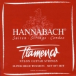 Juego Cuerdas Nylon Hannabach Flamenco  827 SHT  Super  Alta Tensión Para Guitarra