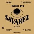 Juego De  Cuerdas  Nylon Savarez 520 PI  Para Guitarra Clásica