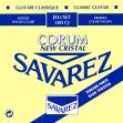 Juego De Cuerdas Nylon Savarez Corum New Cristal 500 CJ Alta Tensión Para Guitarra Clásica