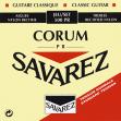 Juego  De Cuerdas Nylon Savarez Corum 500 PR Media Tensión Para Guitarra Clásica