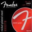 Juego De 6 Cuerdas Fender Nickel - Plated Para Guitarra Eléctrica  250 LR 009 - 046
