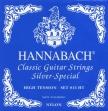 Juego Cuerdas Nylon Hannabach  815 HT  Silver Special Alta  Tensión Para Guitarra Clásica