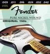 Juego De 6 Cuerdas Fender 150L Nickel Para Guitarra Eléctrica  USA  009 - 011 - 016 - 024 - 032 - 042