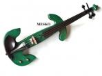 Violin Eléctrico  Takto  Clavijas - Diapason - Mentonera  De Ebano Con Estuche Arco Resina