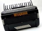 Acordeón Wisemann 48 Bajos 5 Registro  con Estuche y Correas  ( PRODUCTO AGOTADO )