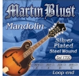 Juego Cuerdas Martin Blust 1700 Para Madolina 8 Cuerdas