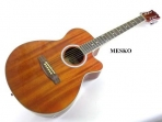 Guitarra  Santana Cuerdas Metalicas Con Equalizador