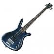Bajo Eléctrico 4 Cuerdas Activo Warwick Corvette Rock  Bass Azul Satinado