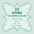 Juego Cuerda Para Violin  Optima  Goldbrokat  1000 B  4/4  Producto Aleman
