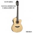 Guitarra Manuel Rodrigez Española  C - 10 Cut E/N Maple  Cuerdas Nylon  Electroácustica
