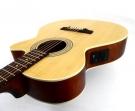 Guitarra Cort SFX - ME OP Cuerdas Metalicas Electroácustica Cubierta Pino Abeto Cuerpo Cedro, Maderas Laminadas Con Equalizador Cort y Afinador