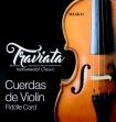 Juego Cuerdas Para Vioín Traviata 3/4  -  4/4