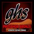 Juego Cuerdas Acero Guitarra Acústica  ghs PHOPHOR BRONZE   011 - 050