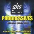 Juego Cuerdas Acero Guitarra Eléctrica  ghs   PROGRESSIVE 010 - 052