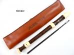 Flauta dulce soprano Aulos  703 BW   Digitación Barroca Imitación  Madera  JAPON