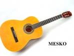 Guitarra Sevillana de Estudio Cuerdas Nylon, Puente Diapason de Jacarandá