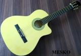 Guitarra Mesko  03  Cuerdas  Nylon Electroácustica Equalizador 7545  Activo 4 Bandas