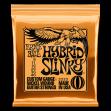 Juego Cuerdas Para Guitarra Eléctrica Ernie Ball 2222  Hybrid Sliky  -  9  - 11 - 16 - 26 -  46 Made In U S A