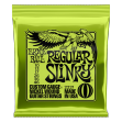 Juego Cuerdas Guitarra Eléctrica Ernie Ball 2221 Regular Slinky   010 - 013 - 017 - 26 - 036 -  046 Made In U S A