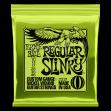 Juego Cuerdas Guitarra Eléctrica Ernie Ball 2221 Regular Slinky   010 - 013 - 017 - 26 - 036 -  046 Made In U S A