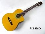 Guitarra Ibanez  Clásica Cuerdas Nylon  GA 3 VECE - AM, con EQ  Electroacústica