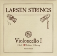 Juego Cuerdas Para Cello  LARSEN  Producto de Dinamarca