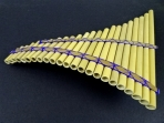 Flauta de Pan 23 Tubos, Producto de Calidad ( PRODUCTO AGOTADO )